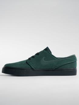 Nike SB Сникеры SB Zoom Stefan Janoski зеленый