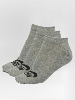 Nike SB Chaussettes No-Show gris