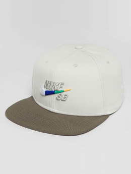 Nike SB Snapback Cap SB Icon weiß