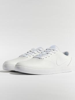 Nike SB Sneakers Check Solarsoft Skateboarding hvid