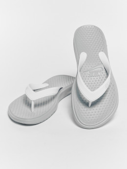 Nike Slipper/Sandaal Solay Thong grijs
