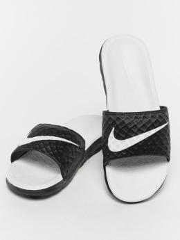 Nike Slipper/Sandaal Benassi Solarsoft Slide zwart