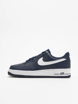 Nike Sneaker Air Force 1 Basketball blau