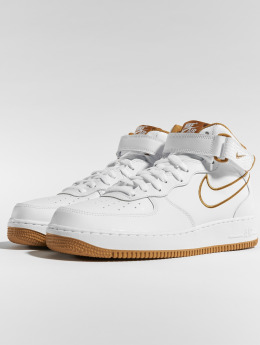 Nike / sneaker Air Force 1 Mid '07 in wit
