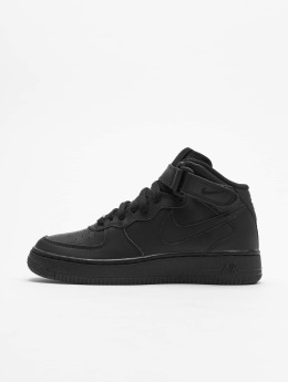 Nike Snejkry Air Force 1 Mid Kids Basketball čern
