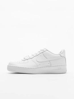 Nike Tøysko Air Force 1 Kids hvit