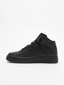 Nike Zapatillas de deporte Air Force 1 Mid Kids Basketball negro