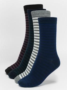 Only & Sons Ponožky onsNipe Blockstripe modrá