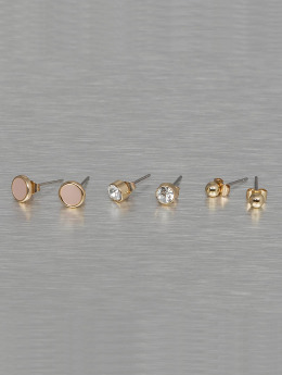 Pieces Earring pcMalle New Basic gold colored