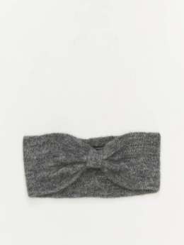 Pieces Oorwarmer pcJosefine Wool Headband grijs
