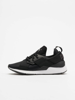 Puma Baskets Muse Satin noir