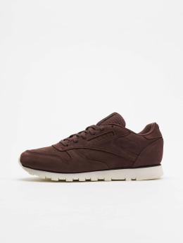 Reebok Baskets CL LTHR rouge