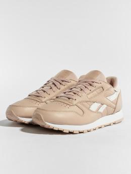 Reebok Sneaker CL LTHR beige