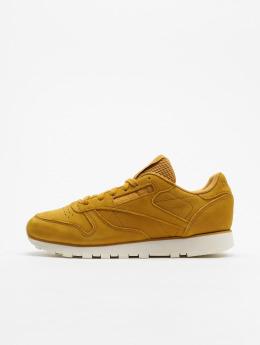 Reebok Sneaker CL LTHR cachi