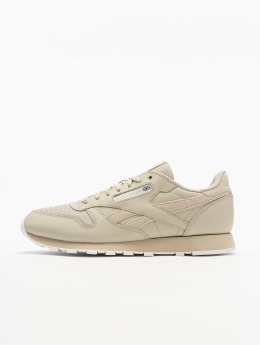 Reebok Sneakers CL Leather Mu bezowy