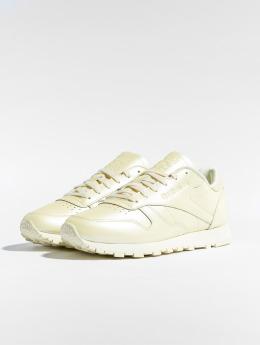 Reebok Sneakers CL LTHR gul