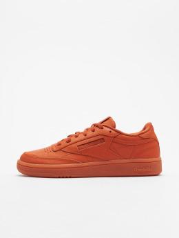 Reebok Sneakers Club C 85 pomaranczowy