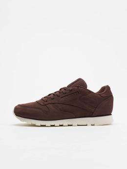 Reebok Sneakers CL LTHR red
