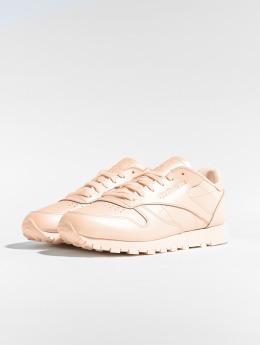 Reebok Sneakers CL LTHR rózowy