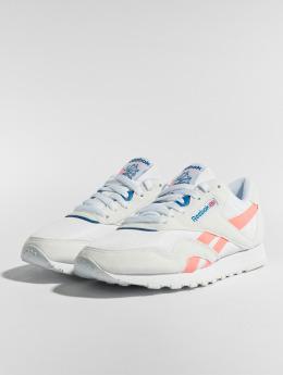 Reebok Sneakers CL Nylon M TXT white