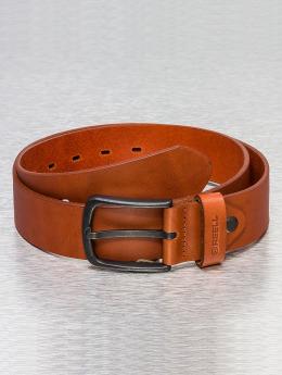 Reell Jeans Cintura All Black Buckle marrone