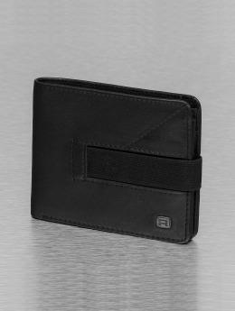 Reell Jeans Lommebøker Strap Leather svart