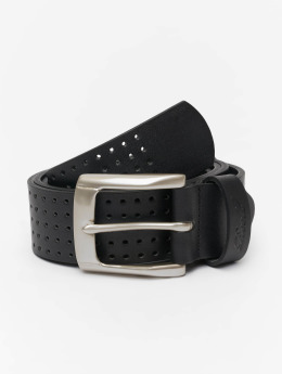 Reell Jeans riem Punched  zwart