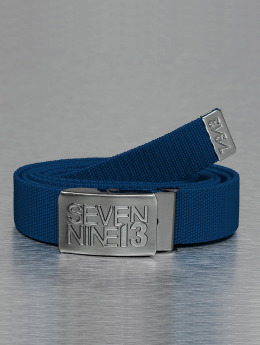 Seven Nine 13 Gürtel Jaws Stretc blau
