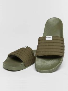 Slydes Claquettes & Sandales West kaki