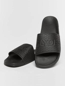 Slydes Slipper/Sandaal Cali zwart