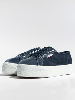 Superga Baskets 2804 Velvetpolyw gris