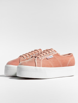 Superga Baskets 2797 Velvetpolyw magenta