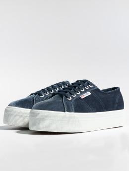Superga Sneaker 2804 Velvetpolyw grigio