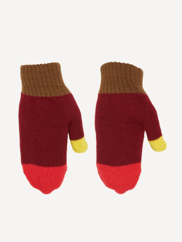 TrueSpin Handschuhe Mittens rot