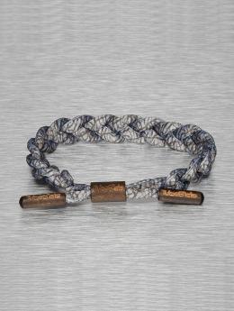 Tubelaces Armband TubeBlet grau