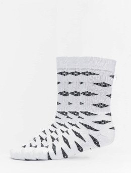 Umbro Calcetines 3-Pack Projects Diamond Sport  blanco