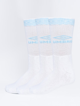 Umbro Chaussettes 3-Pack Projects Sport blanc