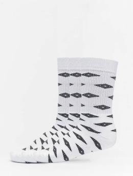 Umbro Socken 3-Pack Projects Diamond Sport  weiß