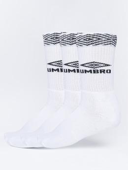 Umbro Strumpor 3-Pack Projects Sport vit