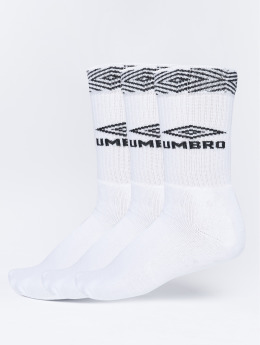 Umbro Sukat 3-Pack Projects Sport valkoinen