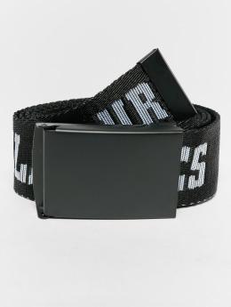 Urban Classics Belts Jaquard svart