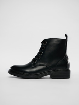 Urban Classics Boots Velvet Lace negro