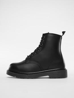 Urban Classics Boots Heavy Lace negro