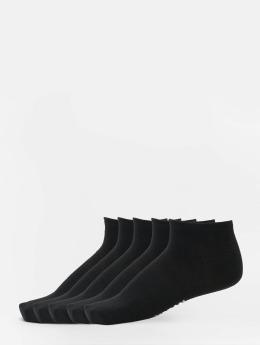 Urban Classics Calcetines 5-Pack Logo No Show negro