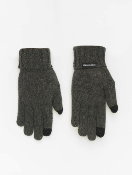 Urban Classics Gants Knit  gris