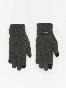 Urban Classics Rękawiczki Knit  szary