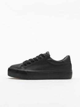 Urban Classics sneaker Plateau zwart