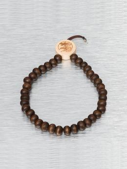 Wood Fellas Armbånd Deluxe Pearl brun