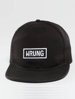 Wrung Division Snapback Caps Box musta