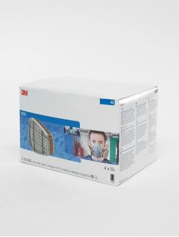 3M Utstyr 6055 A2 Filter 2Er Pack hvit